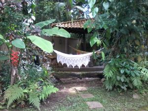 Entrada setor 2 Guarani Chales e Camping